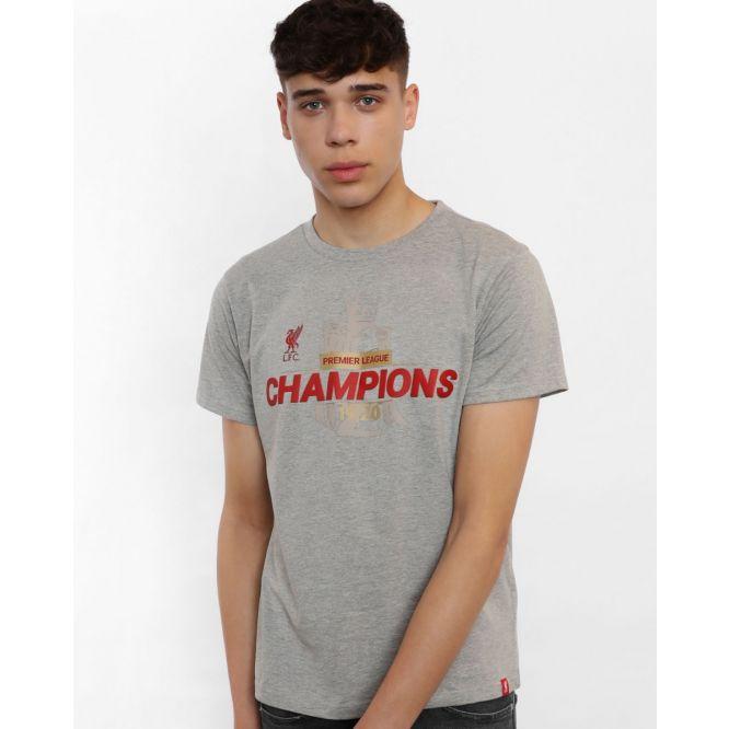 Мъжка Тениска - FC LIVERPOOL EPL Champions 19-20