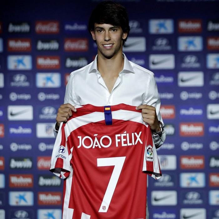 Детски Футболен Екип – NIKE FC Atletico Madrid Joao Felix 7 - 4
