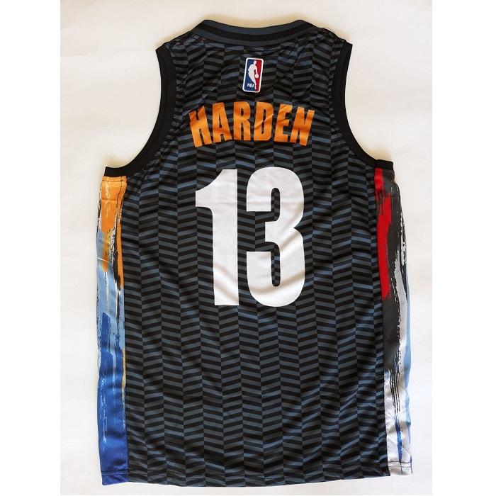 Мъжки Баскетболен Потник – NBA BKLYN NETS HARDEN 13 - 2